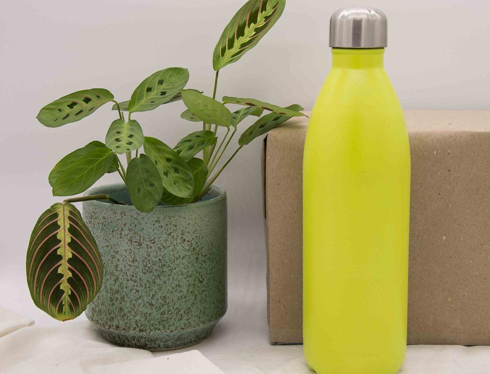 Μπουκάλι ισοθερμικό ανοξείδωτο λαχανί 750ml
