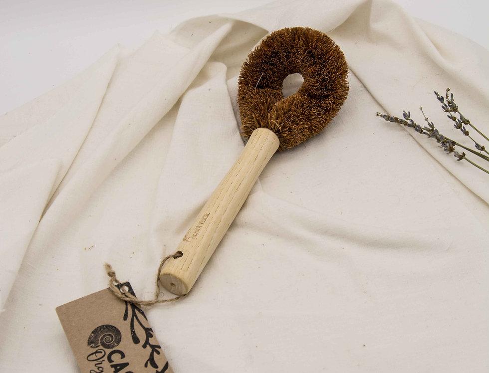 Βούρτσα από ίνες κοκοφοίνικα με λαβή