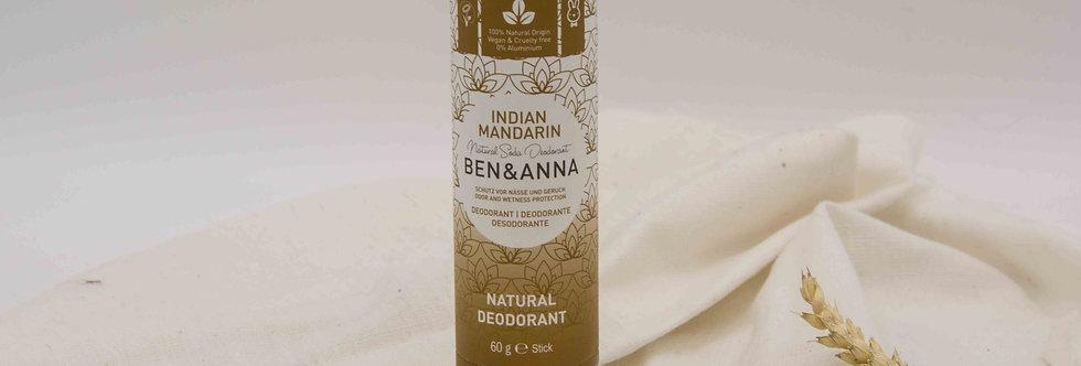 Αποσμητικό BEN&ANNA Indian Mandarin