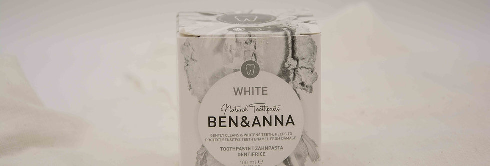 BEN&ANNA White Οδοντόκρεμα λευκαντική