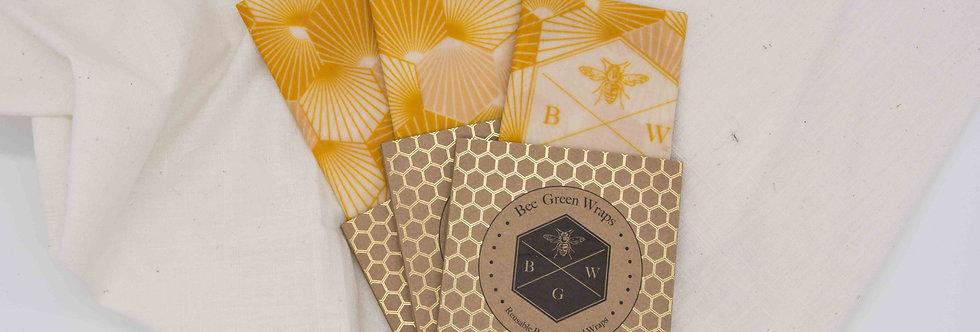 Κηρομάντηλο τροφίμων Hexagonal