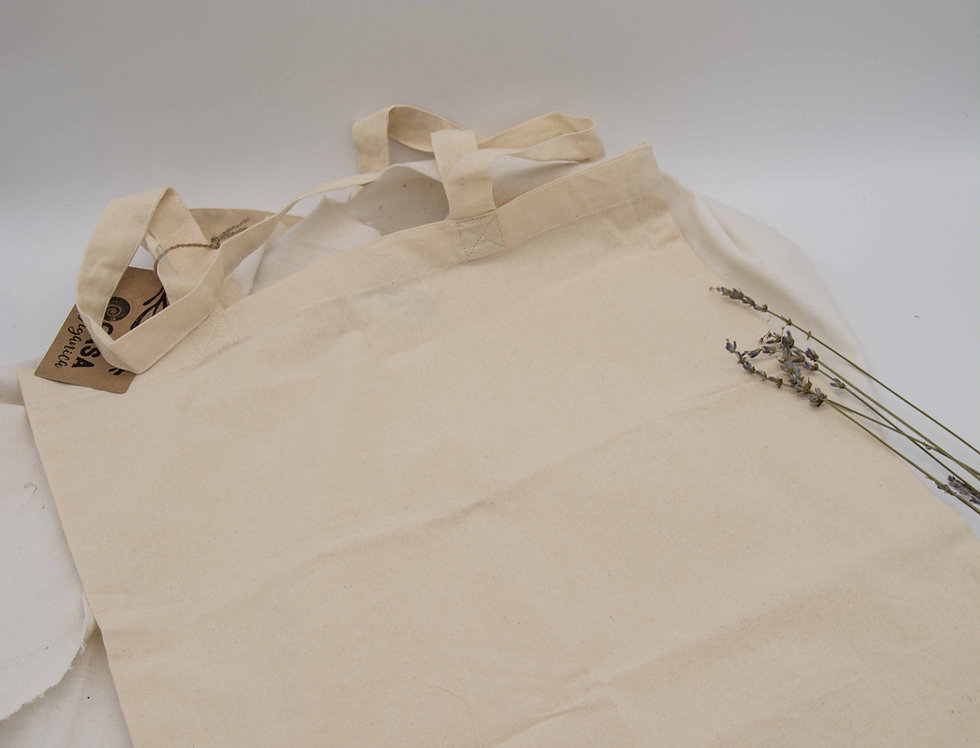 Tσάντα για ψώνια από βιολογικό βαμβάκι