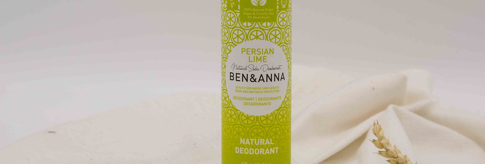 Αποσμητικό BEN&ANNA Persian Lime