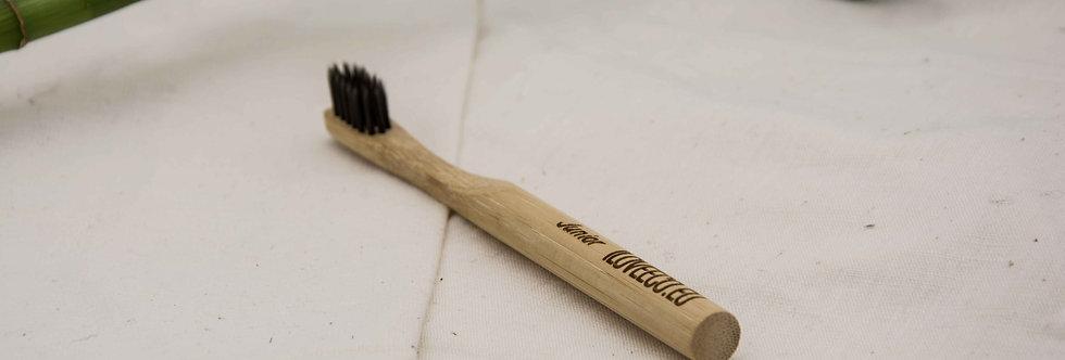 Οδοντόβουρτσα από μπαμπού Junior