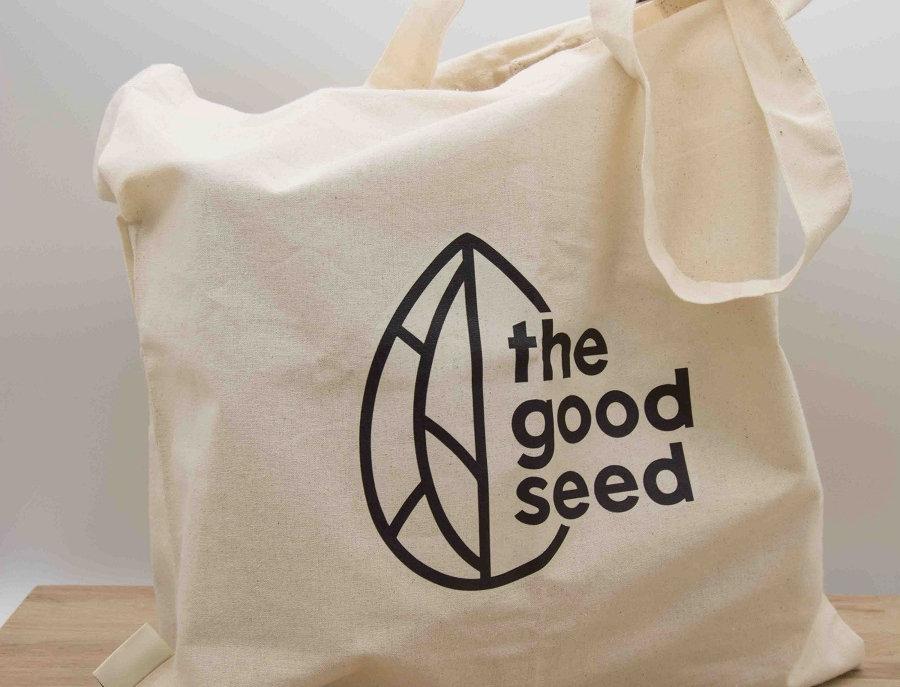 Tσάντα the good seed από βιολογικό βαμβάκι