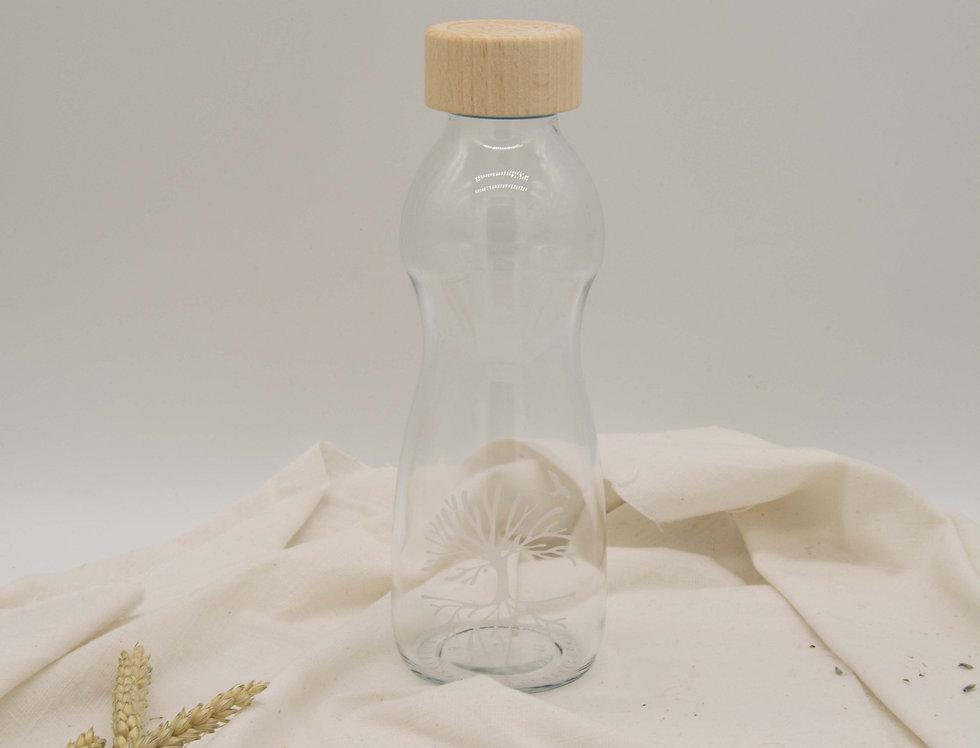 Γυάλινο μπουκάλι νερού