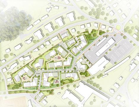 Planung Wohnquartier Am Gierenbach in Lindenberg