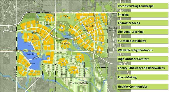 Stadt- und Landschaftskonzept UMore Park Minneapolis, USA