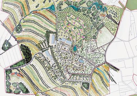 Planung Permakulturdorf Linden bei Prag
