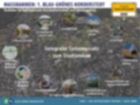 Konzept Zukunftsstadt Blau-Grünes Norderstedt, Planung für den Stadtumbau