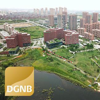 DGNB Gold-Zertifizierung Deutsch-Chinesischer Ökopark Qingdao