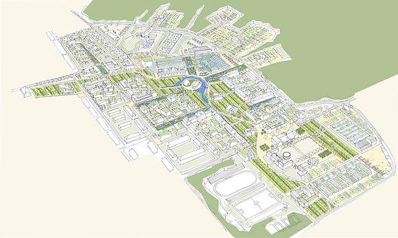 Planung Eco City International Campus Wünsdorf