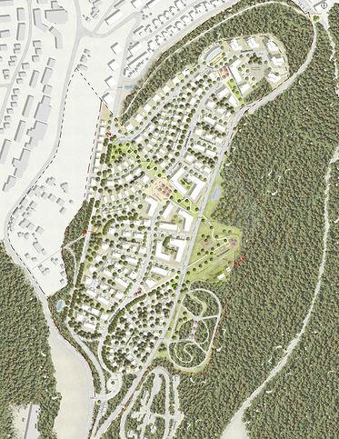 Städtebauliches Konzept für die Konversion des Kasernenareals Castelnau Mattheis in Trier
