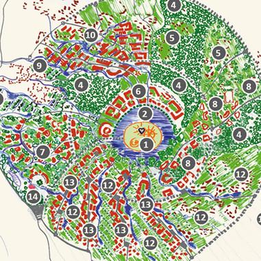 Zweites internationales Planungsforum Auroville Indien