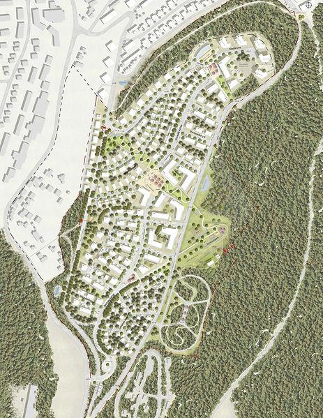 Städtebauliches Gesamtkonzept Umbau Kasernenareal Castelnau Mattheis Trier
