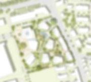 Städtebauliches Konzept des Schönemann-Areals in Fellbach