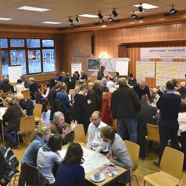Perspektivenwerkstatt und interdisziplinäre Rahmenplanung Grüne Heyde Norderstedt