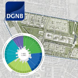DGNB-Zertifizierung Stadtquartier Grüne Heyde in Norderstedt