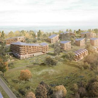 Neubebauung Nadenberg mit JUFA Hotel Lindenberg