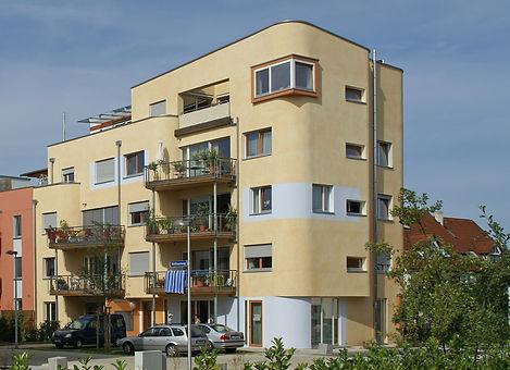 Ansicht Baugemeinschaftsprojekt Lebensquelle Tübingen