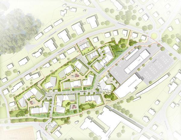 Städtebauliche Planung Wohnquartier Am Gierenbach in Lindenberg im Allgäu