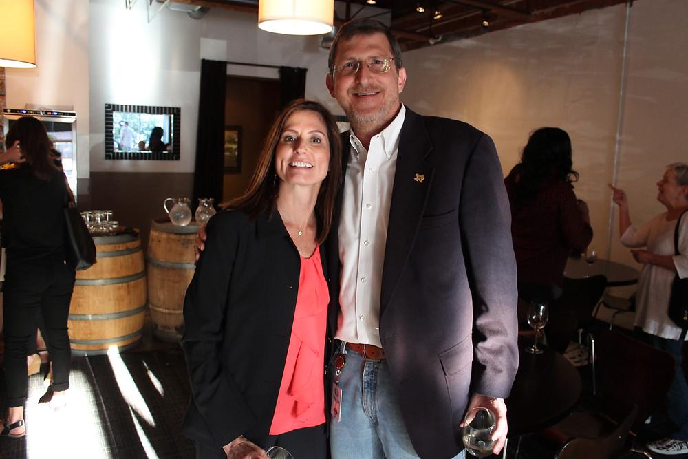 Lori Kirkpatrick and the Honorable David Bradley