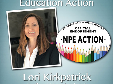 Endorsement by the Network for Public Education
