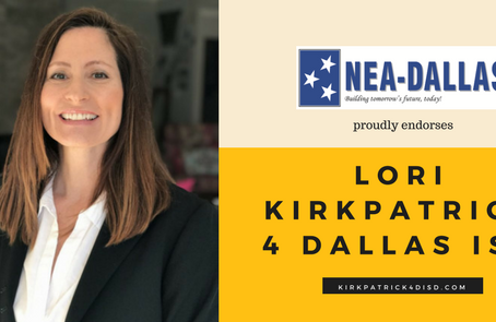 National Education Association - Dallas Endorsement