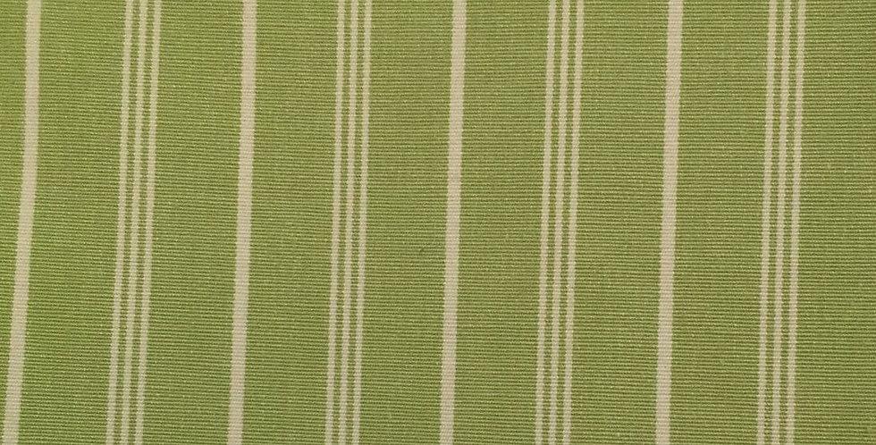 Green and White Stripe