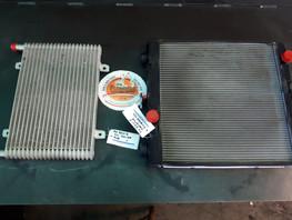 Hitachi ZX50U-5 Radiator & Oil Cooler