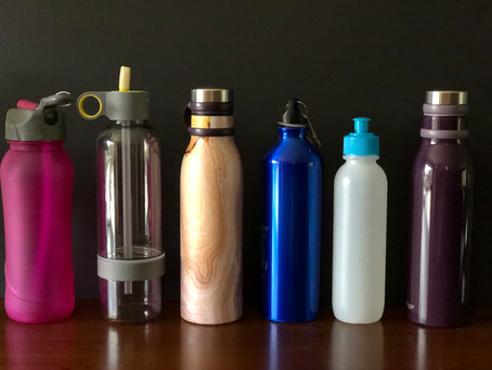 Five reasons to refill your reusable water bottles
