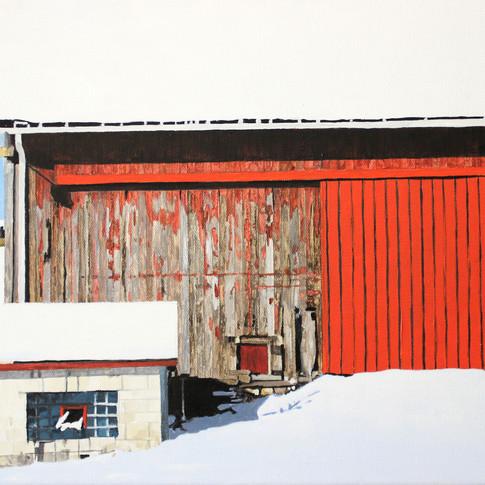 New Door on an Old Barn