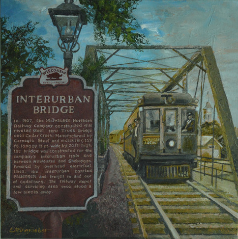 Interurban Then and Now by Jerry Steingraeber