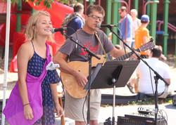Beer Garden Hayes singers