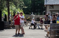 Polka in the beer garden