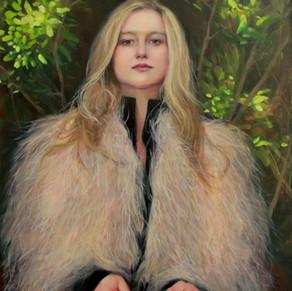 Autumn's Solace, Sasha Kinens, Oil on canvas