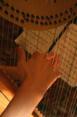 Harp Music by Candlelight