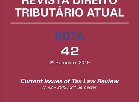 RDTA | TRIBUTAÇÃO SOBRE O PECADO, MOLDURA REGULATÓRIA BRASILEIRA E DESENVOLVIMENTO