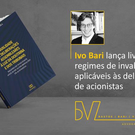 Nosso sócio Ivo Bari lança livro