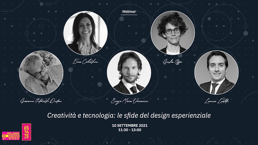 E&R Webinar - Creatività e tecnologia: le sfide del design esperienziale