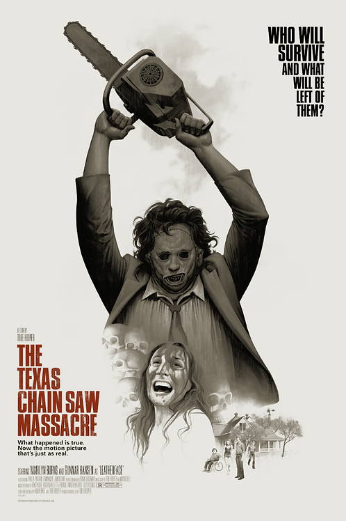 The Texas Chain Saw Massacre Set (Reg and Variant) Pre-Sale