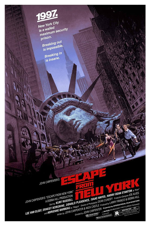 Escape From New York by Barry Jackson