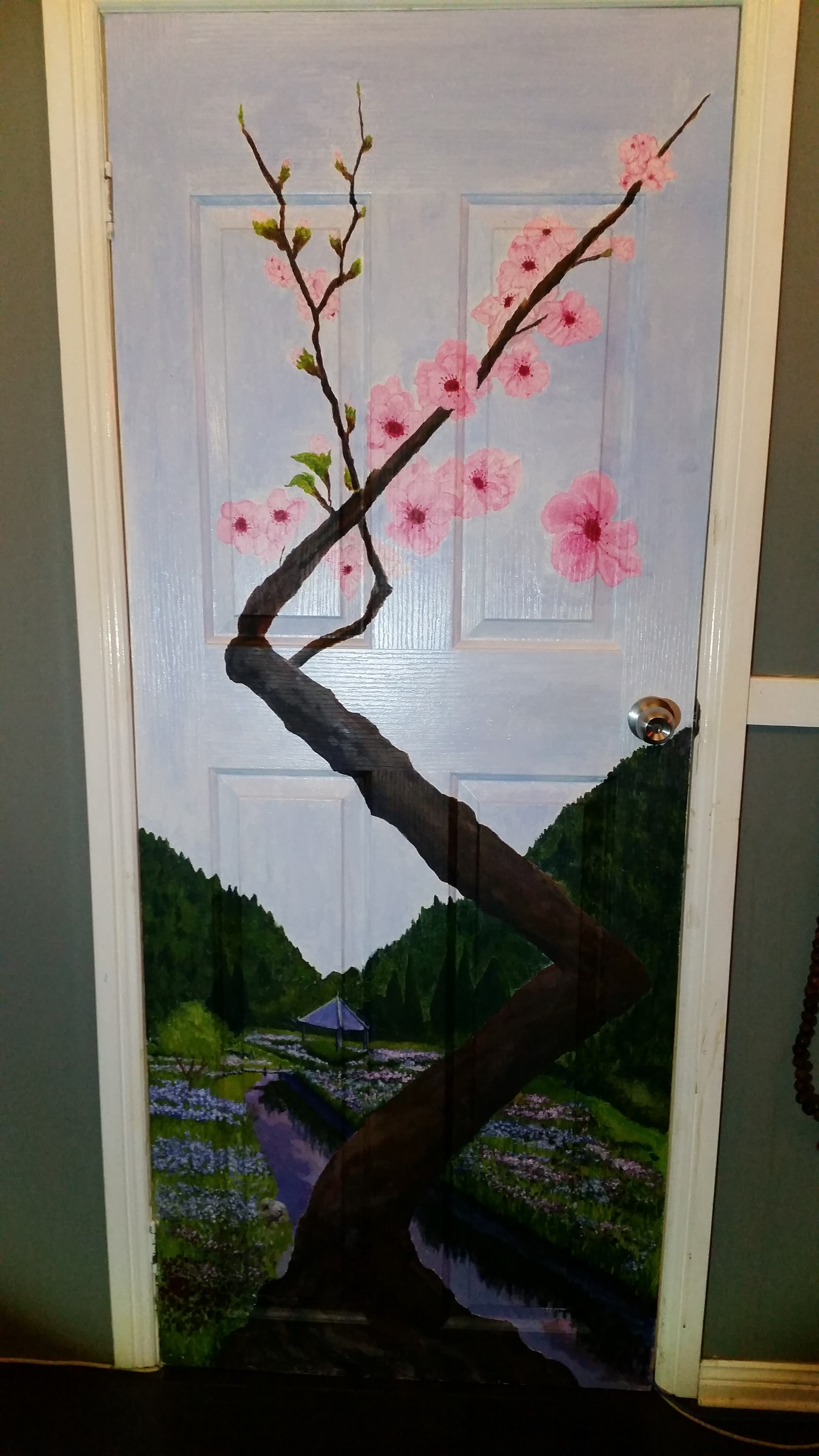 Japanese Theme-Cherry Blossom, Sanda