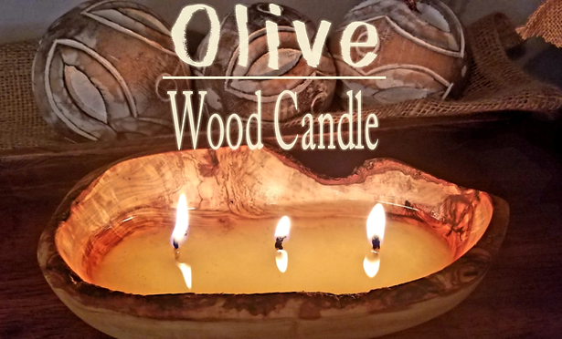 Olivewood Candle