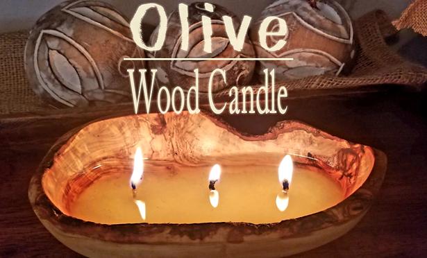 Olivewood Candle