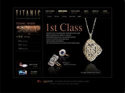 타이타닉 전시회 마이크로 사이트