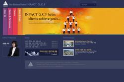 INPACT GCF 홈페이지 일러스트레이션