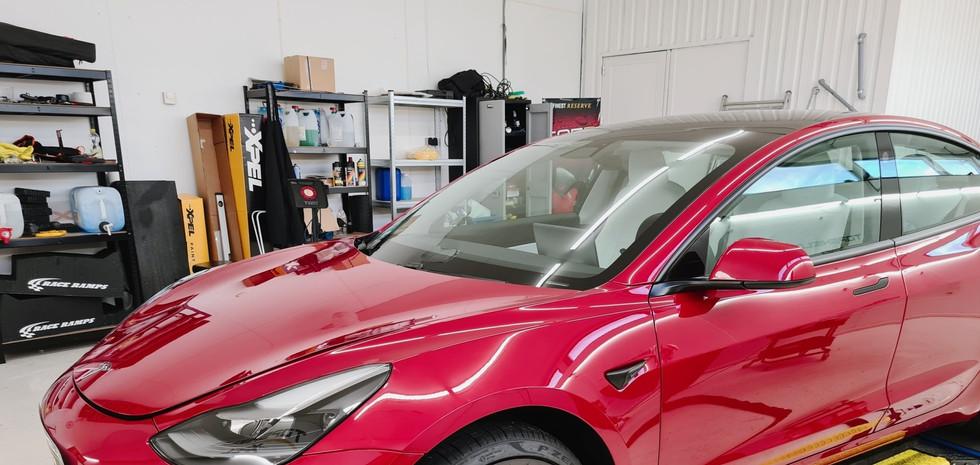 Tesla model 3 lakbeskyttelse