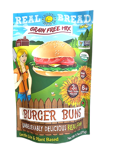 Organic Mix Burger Bun