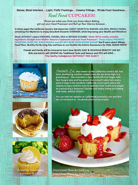 Annabelle Lee's cookbook Sweet Secrets Real Food Cupcakes